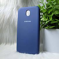 Чехол Samsung J730 J7 2017 синий