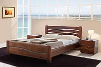 Кровать деревянная двуспальная Вивия 1,4м ясень