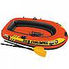 Лодка надувная Intex 58357 Explorer 200 Pro на 2 человека