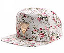 Женская кепка снепбек Hater с прямым козырьком Черная 2, фото 3