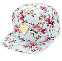 Женская кепка снепбек Hater с прямым козырьком Черная 2, фото 5