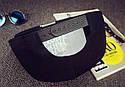 Кепка снепбек Fuck с прямым козырьком Белая 2, Унисекс, фото 8