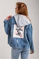 Молодіжна джинсова куртка , Туреччина Весна/Літо 2020