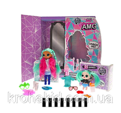 Кукла LOL OMG с волосами большая и сестричка Winter disco / Кукла лол 25 сюрпризов  - PG 8104, фото 3