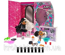 Кукла LOL OMG с волосами большая и сестричка Winter disco / Кукла лол 25 сюрпризов  - PG 8104, фото 2