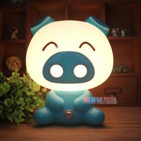 Светильник ночник Свинка Blue SKL32-152812