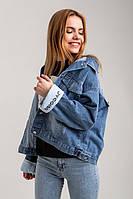 Джинсовая женская куртка , Турция Весна/Лето 2020