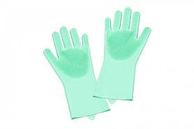 Силиконовые перчатки для мойки посуды SKL11-152838