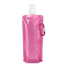 Складная бутылка с карабином My Oasis Bottle Pink SKL25-149738