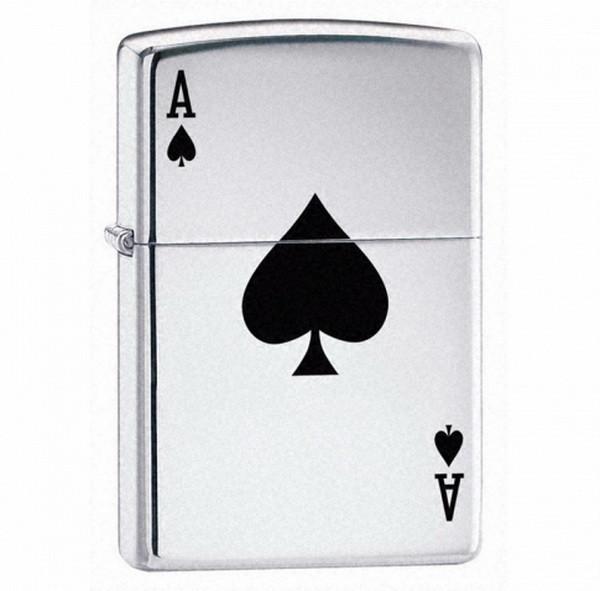 Запальничка Zippo Lucky Ace, 24011
