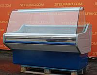 Холодильная витрина колбасная «Cold W-14 SG» 1.5 м. (Польша), широкая выкладка 71 см., Б/у, фото 1
