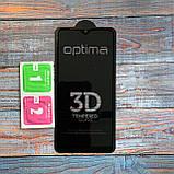 Защитное стекло Optima 3D Samsung A10s Black, фото 4