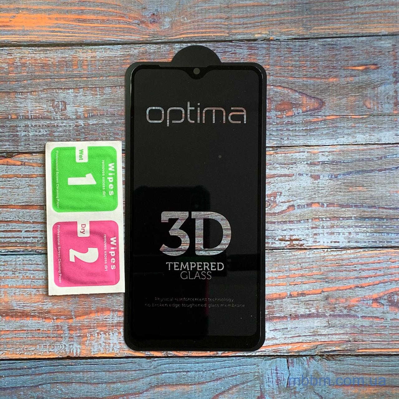 Защитное стекло Optima 3D Samsung A10s Black Galaxy A10 (A105)