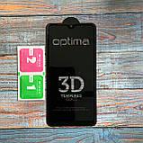 Защитное стекло Optima 3D Samsung A10s Black, фото 5