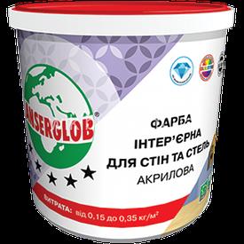Фарба інтер'єрна акрилова Anserglob для стін і стель 14 до