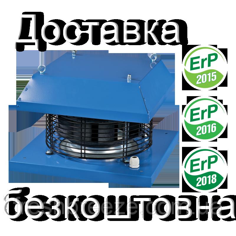 Крышный центробежный вентилятор с горизонтальным выбросом воздуха ВКГ 4Д 355