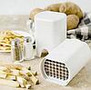 Устройство для нарезания картошки фри и овощей Lot de coupe legumes   Ручной слайсер