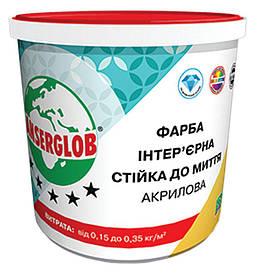 Фарба інтер'єрна акрилова Anserglob стійка до миття 14 кг