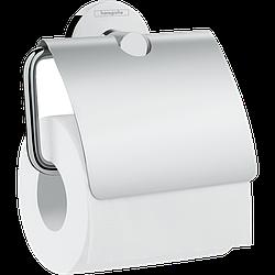 Держатель туалетной бумаги HANSGROHE LOGIS UNIVERSAL с крышкой 41723000