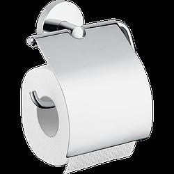 Держатель туалетной бумаги HANSGROHE LOGIS с крышкой 40523000