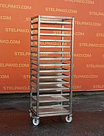 Стелаж-шпилька кондитерський для листів, універсальний, 180х47х63 див., Б/в, фото 1
