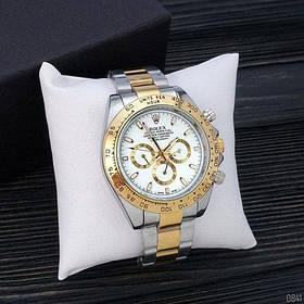 Часы Rolex Daytona Automatic Silver-Gold-White SKL39-225932