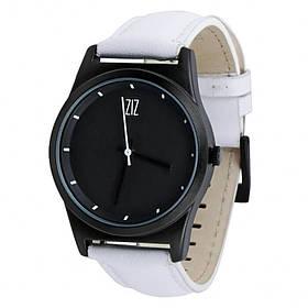 Часы Ziz Black в подарочной коробке на кожаном ремешке и доп. ремешок SKL22-142755