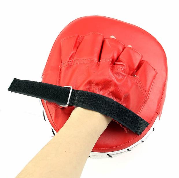 Тренировочная боксерская перчатка для ударов! Мишень на руку для каратэ с мягкой накладкой!