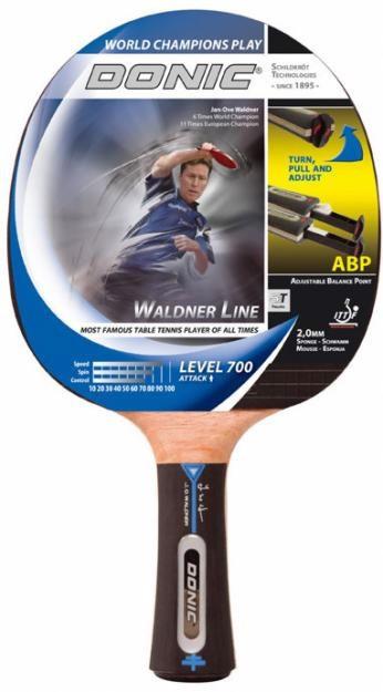 Ракетка Donic Waldner Line 700 D-WL700 для настольного тенниса