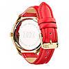 Часы Ziz Минимализм, ремешок маково-красный, золото и дополнительный ремешок SKL22-142873, фото 2