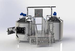 Двух-агрегатный варочный порядок | 500 л. за варку (2VP-500)