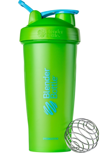 Шейкер спортивный BlenderBottle Classic Loop 820ml Special Edition Vera Green-Blue SKL24-145711