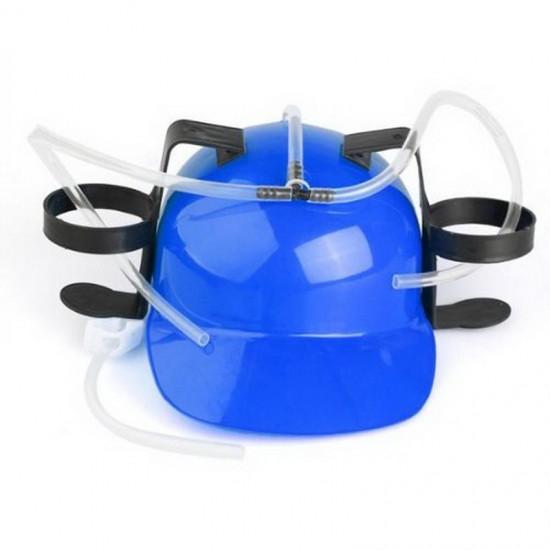 Шлем для пива синий SKL32-189576