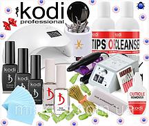 Стартовый набор Kodi Professional для покрытия гель лаком с Лампой Sun 5 48 W фрезером Lina 20000 об