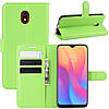 Чехол-книжка Litchie Wallet для Xiaomi Redmi 8A Green