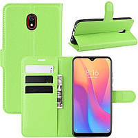 Чехол-книжка Litchie Wallet для Xiaomi Redmi 8A Green, фото 1