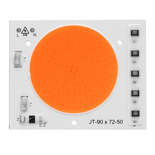 Светодиодный фито модуль COB LED 50W AC220 90*72мм для растений