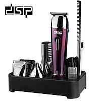 Триммер для волос 5в1 стрижка,бритва беспроводная DSP F-90030, фото 1