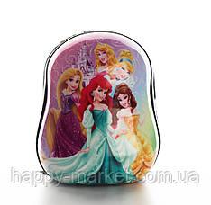 Рюкзак Ранець для дошкільника пластиковий Принцеси 0101-1
