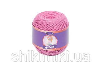 Трикотажний шнурок Lilibeth для Амігурумі 2мм, колір Малиновий