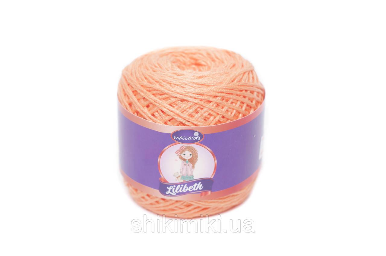 Трикотажный шнурок Lilibeth для Амигуруми 2мм, цвет морковный