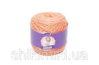 Трикотажний шнурок Lilibeth для Амігурумі 2мм, колір Морквяний