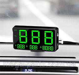 Автомобильный цифровой GPS Спидометр HUB C80 Speedometer жпс хаб GPS спидометр универсальный