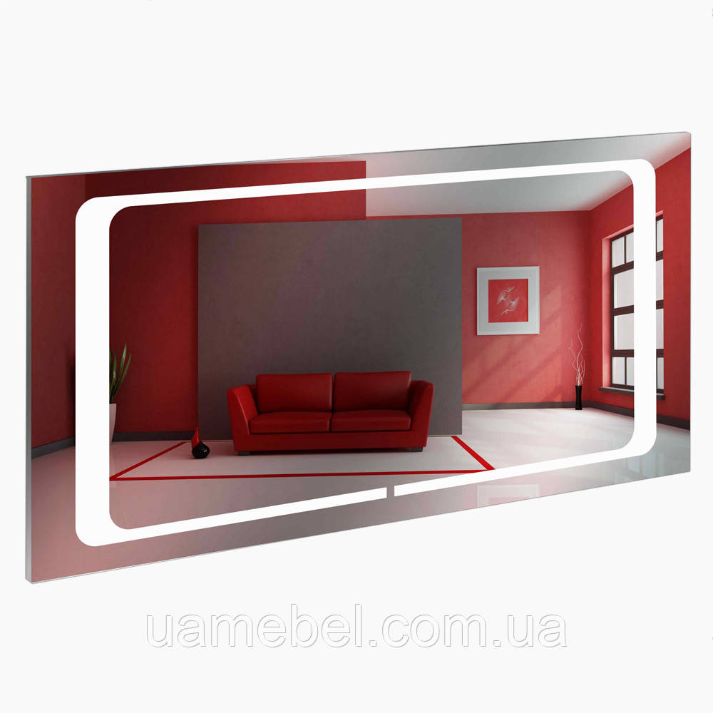 Зеркало в ваннуюс led подсветкой LED-9 (70-100 см)