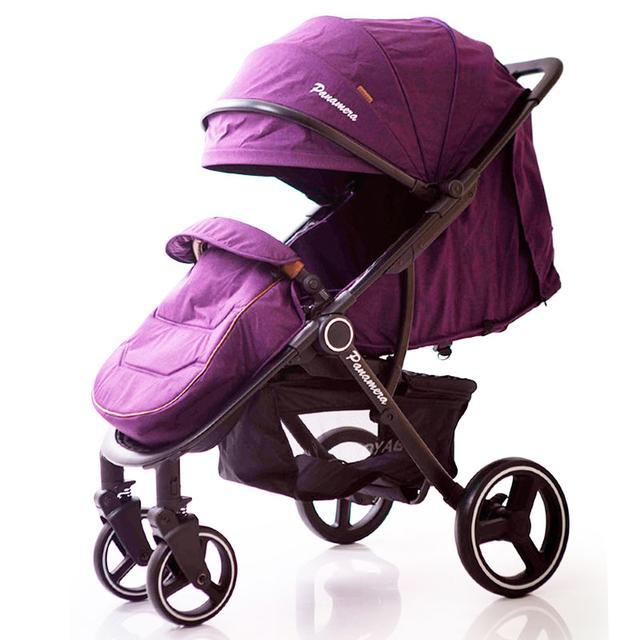 Детская прогулочная коляска VOYAGE Panamera C689 Blue (Black)
