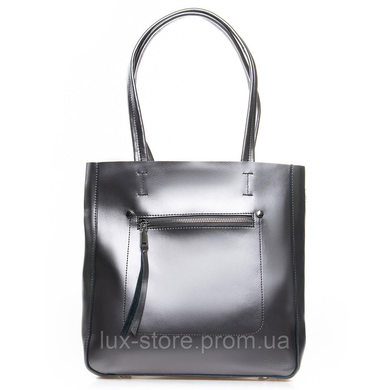 Сумка Женская Классическая кожа ALEX RAI 2-02 8773 light-grey