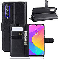 Чехол-книжка Litchie Wallet для Xiaomi Mi A3 / Mi CC9e Black
