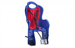 Велокресло для детей Elibas T HTP design на раму синий