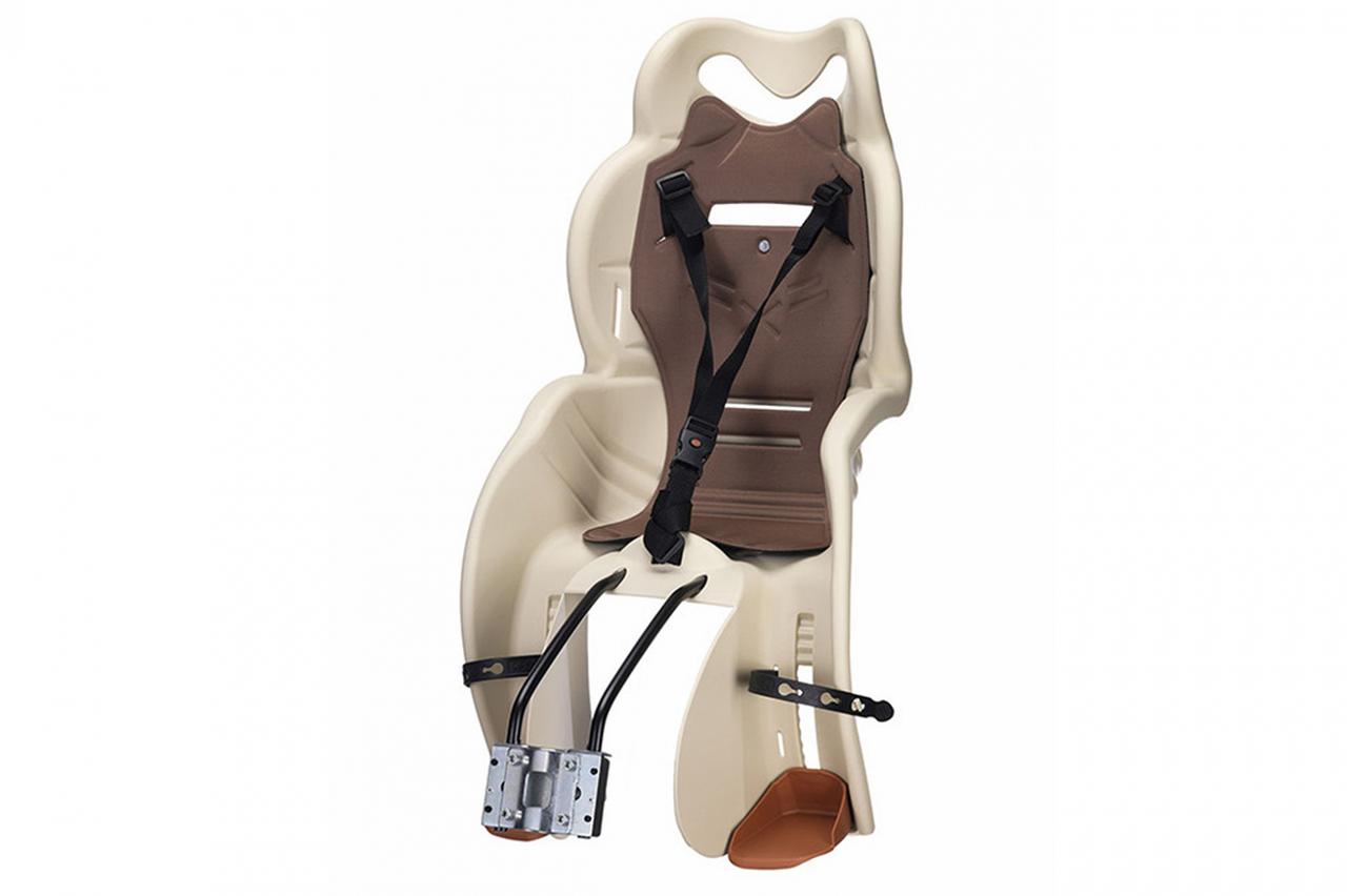 Велокрісло для дітей Sanbas T HTP design на раму бежевий