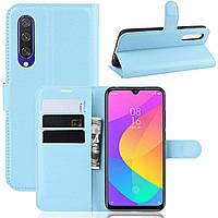 Чохол-книжка Litchie Wallet для Xiaomi Mi A3 / Mi CC9e Blue